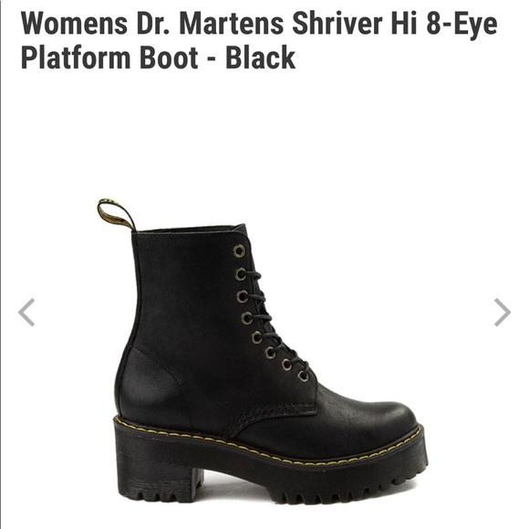 platform doc martens size 6